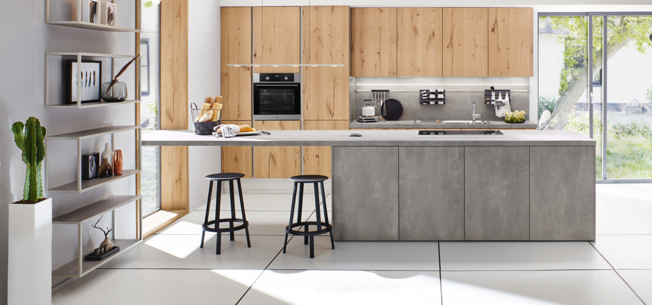 Bouwhof keuken hout